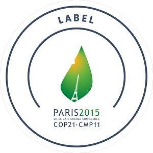Projet labélisé COP21 et exposition de tous les modèles sur l'Espace Génération Climat au Bourget