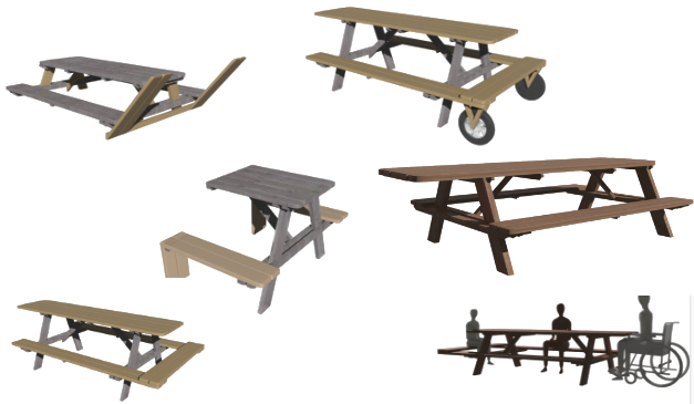 Open Source picnic Tables