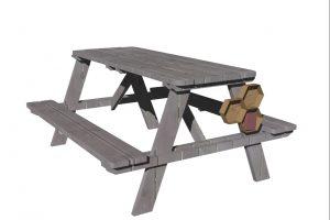 design table picnic et boites